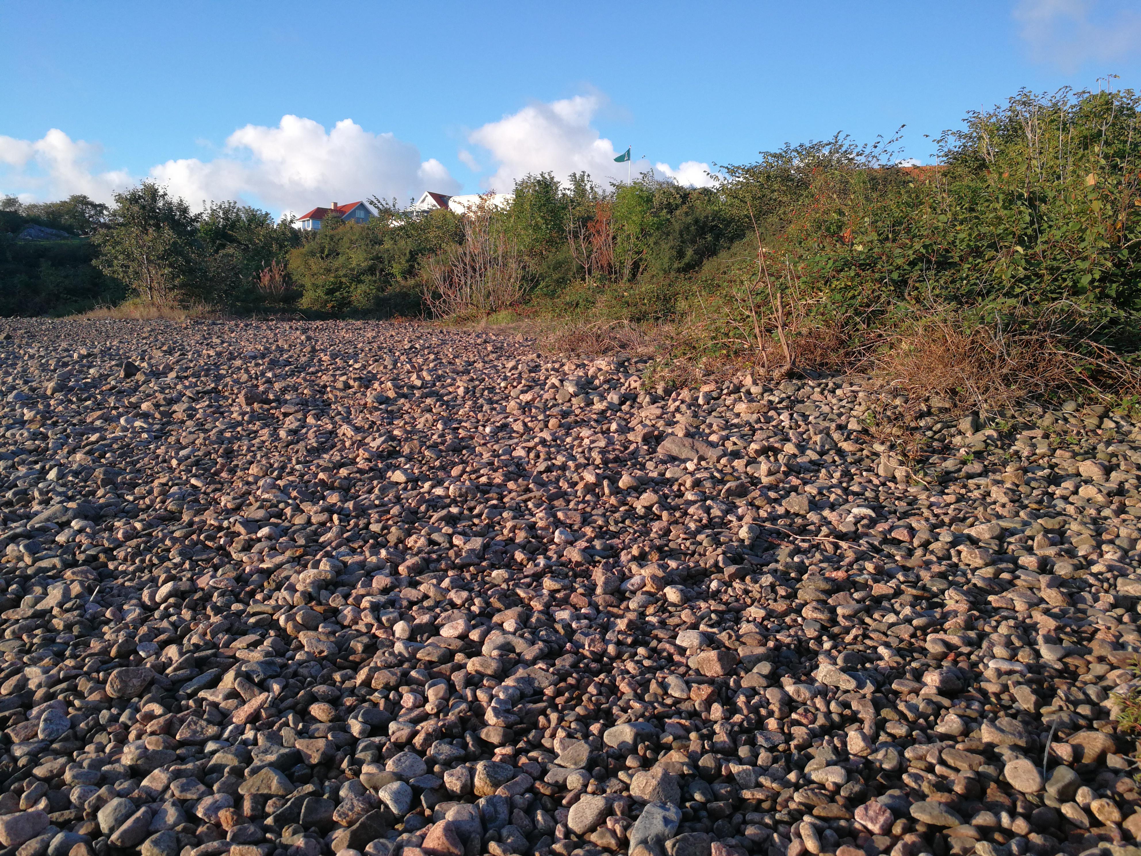 Sten stranden